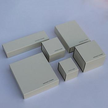 Custom High End White Jewelry Packaging Box With Paper Sleeve Buy Custom Jewelry Box High End Custom Jewelry Boxes Packaging Packaging Box With