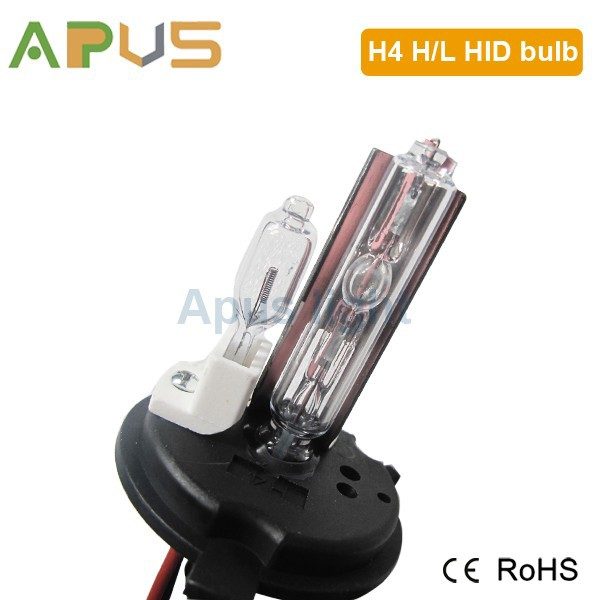 Best quality best selling 35W AC h4 hi lo hid xenon bulb