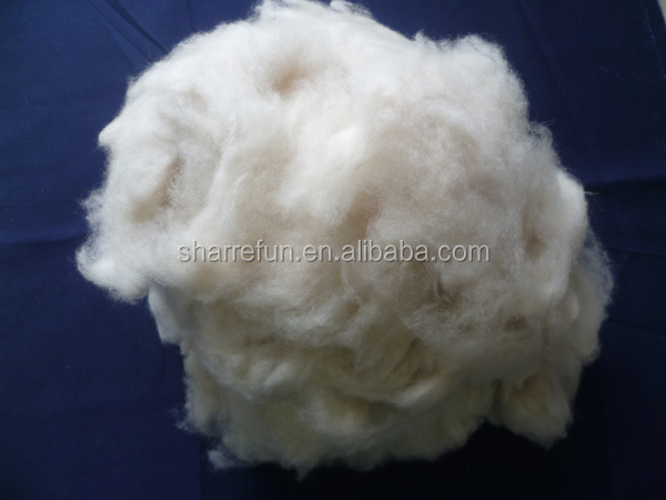 Sharrefun Pure Dehaired Fijne Kasjmier Fibre Wit 15.5-16.5mic 26-38mm