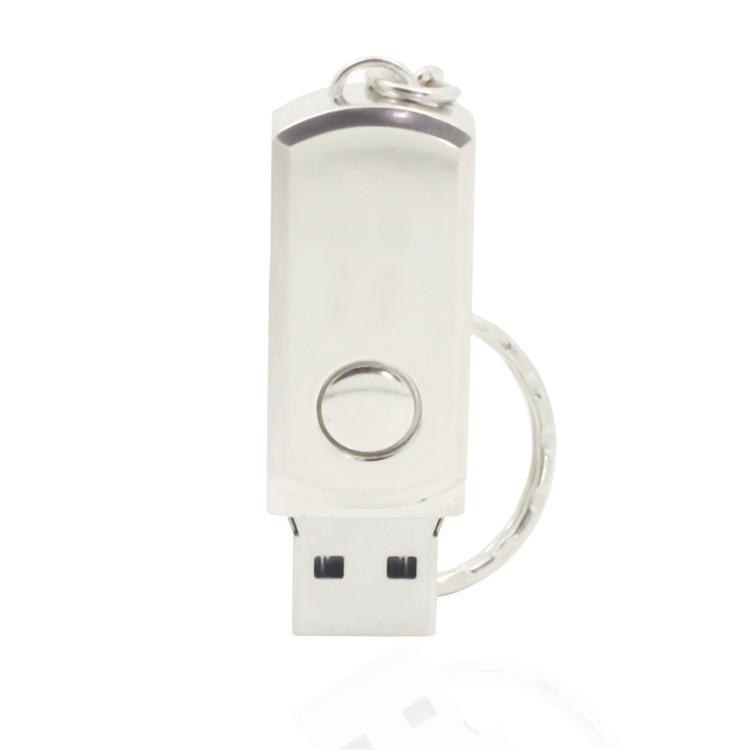 Metal mini twist usb flash drive leser logo pendrive promotional delicacy gift