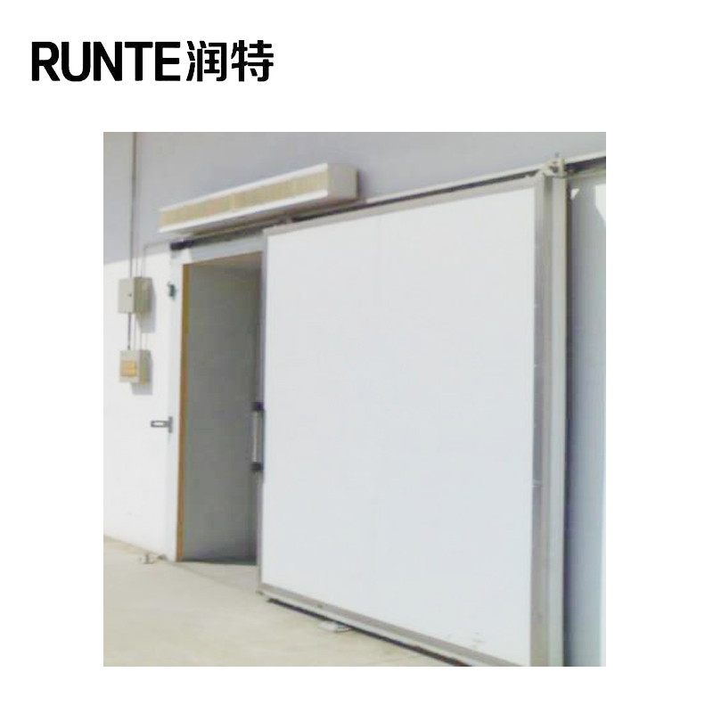 Modern design insulated metal sliding doors for cold rooms