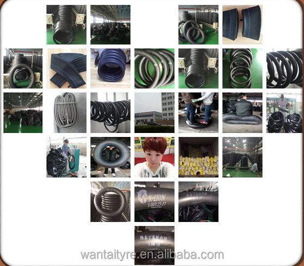 High Quality Motorcycle Butyl Rubber Tube 3.00-18 TR4 Factory