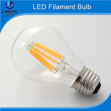 2W 4W 6W 8W AC 12V-24V 85-265V LED Bubble Bulb Glass Shade Retro Edison type LED Filament lamp Replace Incandescent light A60