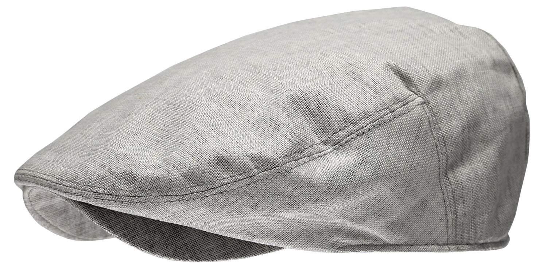 4af5716945322 Get Quotations · Epoch hats Men s Linen Flat Ivy Gatsby Summer Newsboy Hats