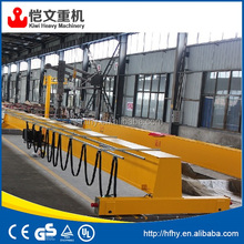 small electric 2 ton single girder overhead crane 1 ton EOT travelling portal cranes 5 ton with travelling end beam
