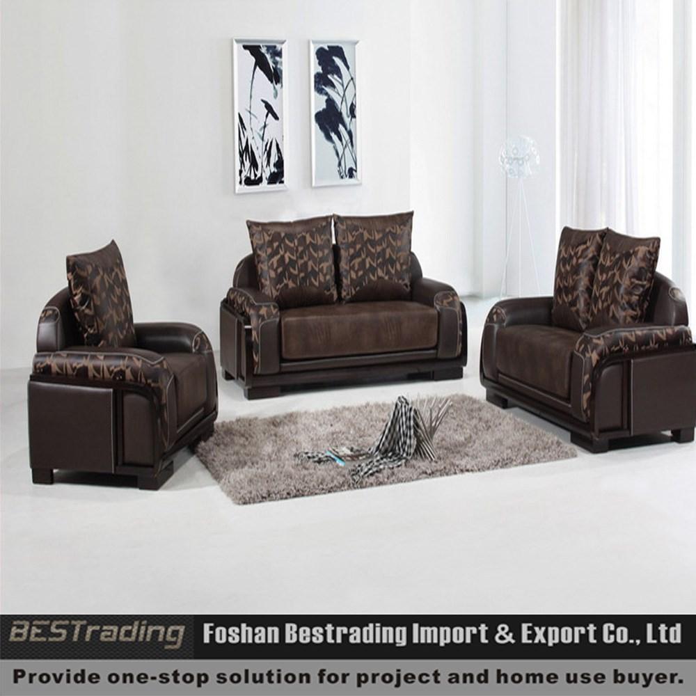 Pu sofa, lederen sofa set, leren bank gemaakt in china-woonkamer ...