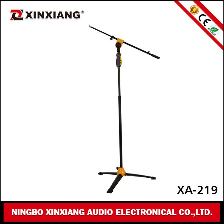 Classical Adjustable Cheap Microphone Stand with Boom XA-203