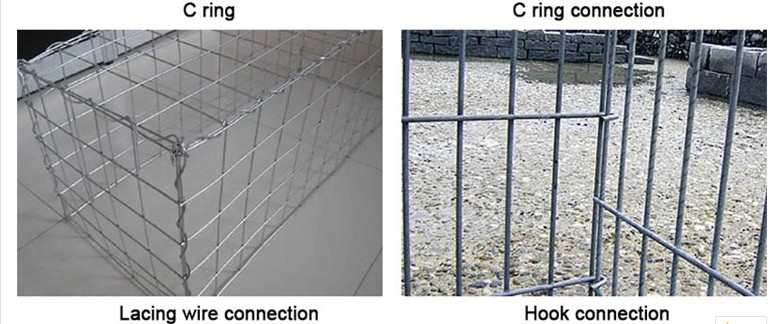 Competitive price  Quality galvanized gabion baskets for wire gabion wall