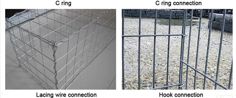 Cheap Galvanized Gabion Box Steel Wire Mesh Fence Welded Retaining Wall Garden Wall Gabion Basket