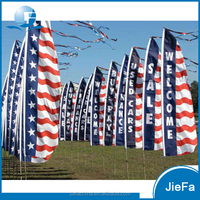 Hot-selling Customized Beach/Flying Advertising Flags For Sale