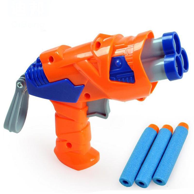 Get Quotations · Gun Toy Small Satety Plastic Nerf Gun Pistol Slugterra  Mauser Soft Foam Bullet Gun Sports Outdoor
