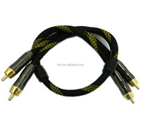 Factory supply high grade AV cable RCA cable