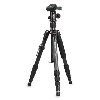 Private logo Professional Dragon Carbon Fiber Tripod with Ball Head Built-in Spirit Level for SLR DSLR Camera