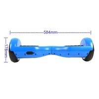 6.5 polegadas 2 wheel self-balance hoverboard with UL2272