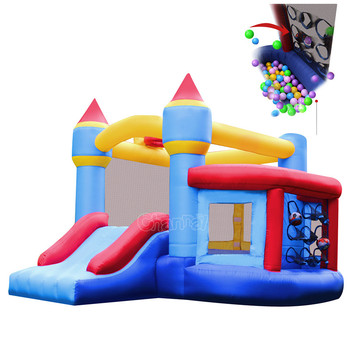 Channal New Design Nylon inflatable castle /indoor inflatable air bouncer trampoline