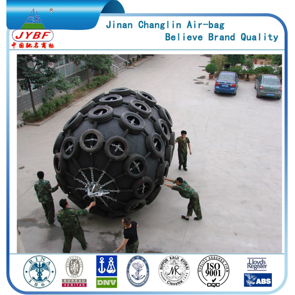 High energy absorption 2.0m*3.5m pneumatic marine fenders