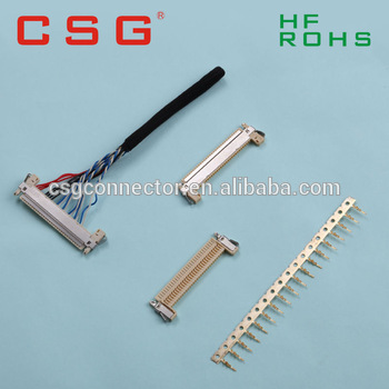 Pitch 1mm Smt Electrical Wire Connectors Types