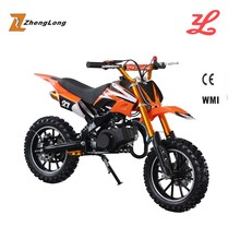 CE certification and 40 - 60km/h max speed kids gas dirt bikes
