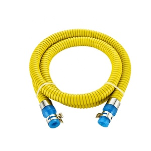 Inset and insert PVC and Steel coated rubber inner tube flexible gas hose