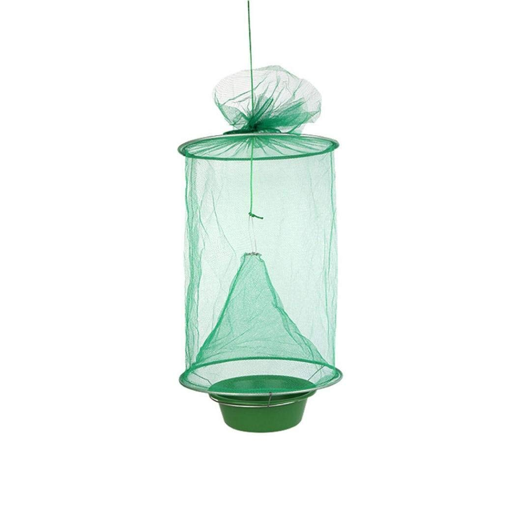 Vincent&July Vinjeely The Ultimate Red Drosophila Fly Trap Device Top Catcher Ourdoor Garden Fly Wasp Insect Trapping