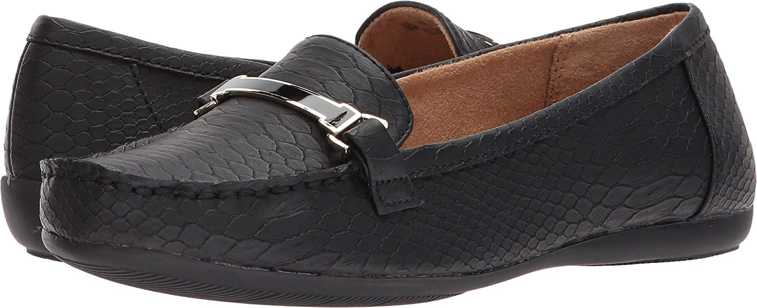 62f51d744d8 Get Quotations · Naturalizer Womens Sidney Square Toe Loafers