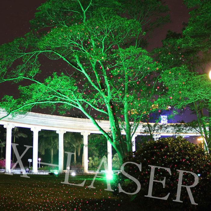 gro handel neueste weihnachtsbeleuchtung deko baum licht show rasen landschaft garten laser. Black Bedroom Furniture Sets. Home Design Ideas