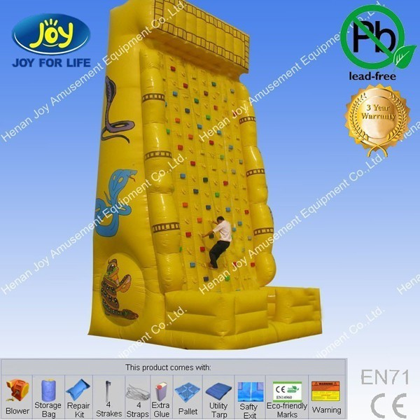 a game full of challenge steep climbing wall