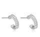 27321 most competitive jewelry accessories parts manufacture gold diamond stud earrings