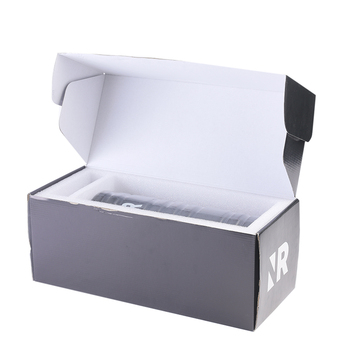 Hot sale Corrugated cardboard paper custom print simple hand assembly packaging shoes box