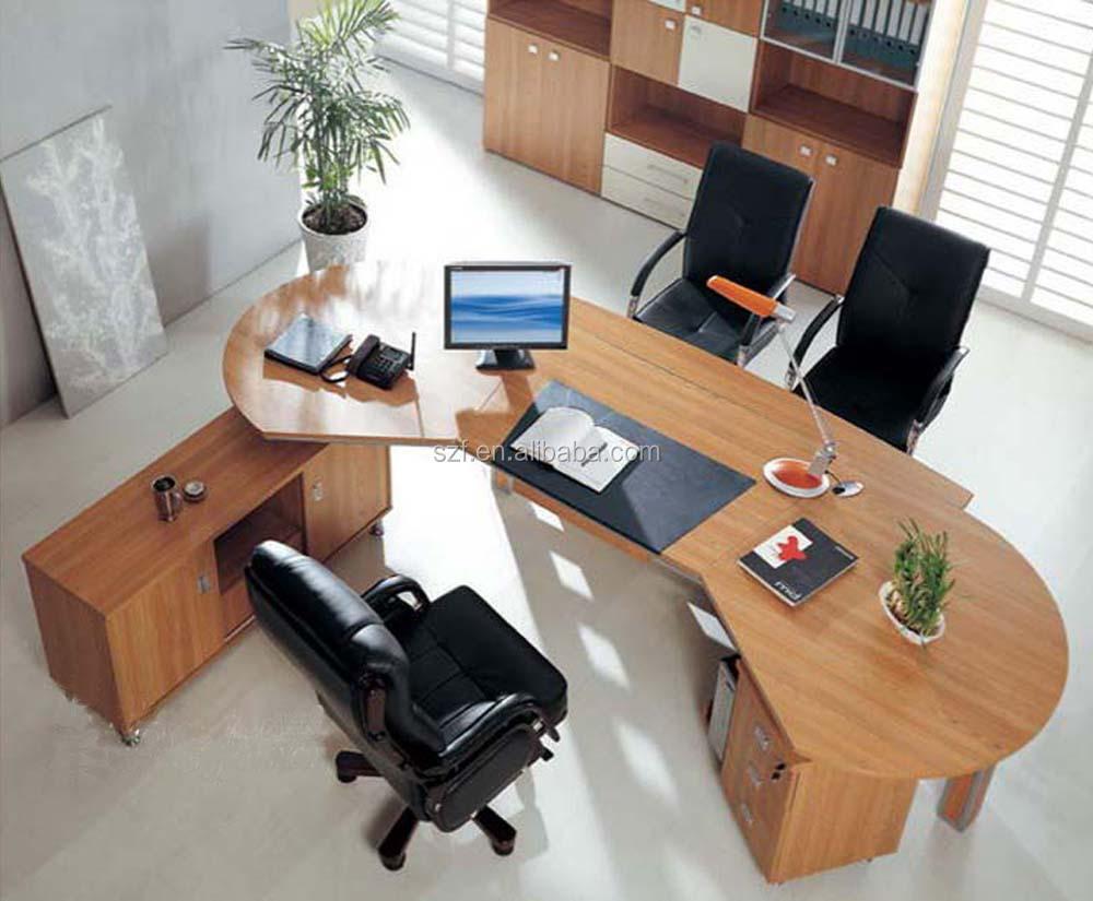 En gros l forme bureau bureau coin bureau table pour ordinateur