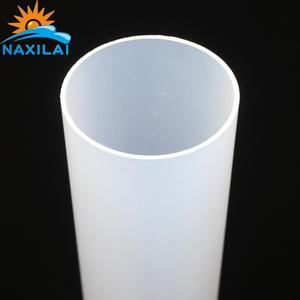 Selling Acryl Pipes With Grooves Plastic Cylinder Frosted Acrylic Tube