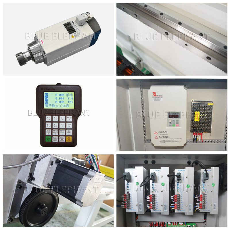 Hot Selling Multi Head Pneumatic Wood CNC Router Machine Woodworking CNC Router for Furniture cabinet door