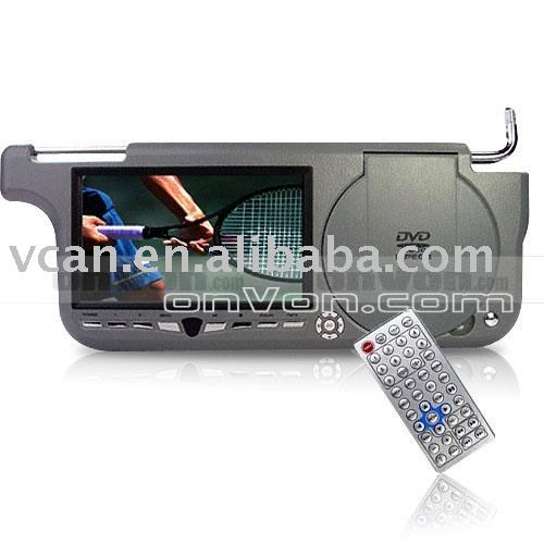 Sun Visor DVD+Game Player (Right Side) USB Card Slot GR