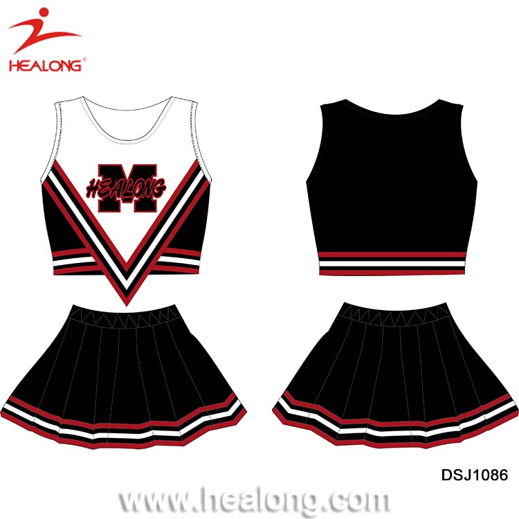 Femmes Sexy Effectue Cheerleading Robes Avec Pom-Pom Girl Pompon