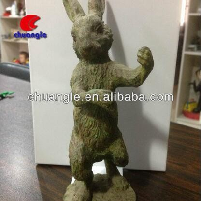 Resin Rabbit Figure,Garden Decoration Resin Rabbit