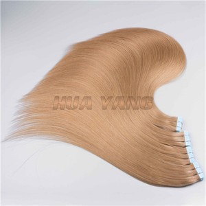 european remy tape hair extensions wholesale machine made human hair weaving virgin european hair