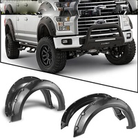 ABS Pocket Rivet Style Fender Flares fit for 18 F-ord F150
