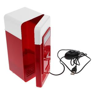 Popular beverage drink cans cooler warmer refrigerator usb mini fridge for office_HL4136