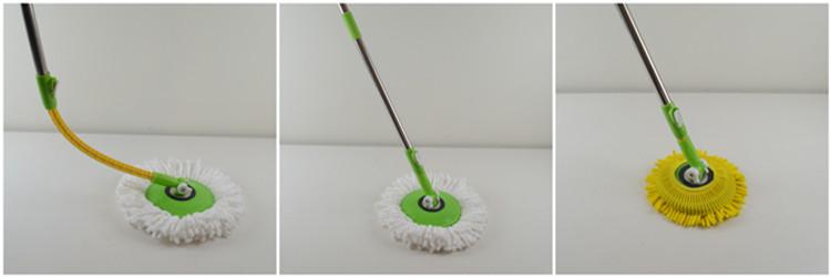 Squeeze mop bukcet with wringer plastic bucket mop