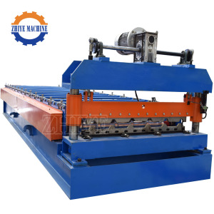 Fully Automatic Steel Metal High Rib Roof Panel Rolling Forming Machine