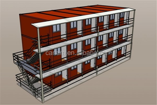 steel structure Modern Module improve container home china