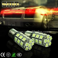 HIGH QUALITY 1157 27smd 5050 , led tail light BA15D BA15S 1157 smd led 5050 DC 12V Auto LED brake light