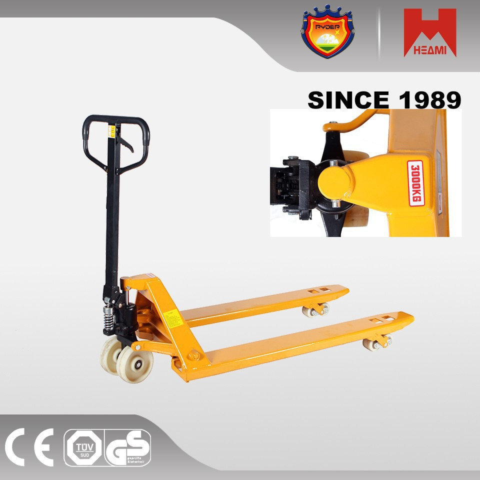 electric pallet truck two wheeled manual hydraulic platform lifters