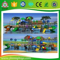 Guangzhou big water slides for sale, aqua park, fort rapids water park JMQ-G132A