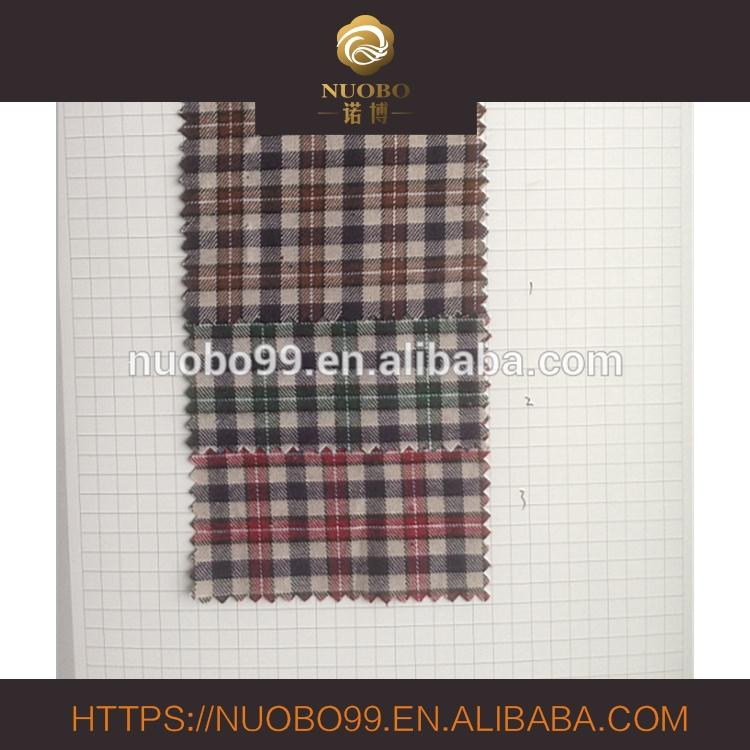 shirt use Woven Dye high quality 100% cotton checked fabric