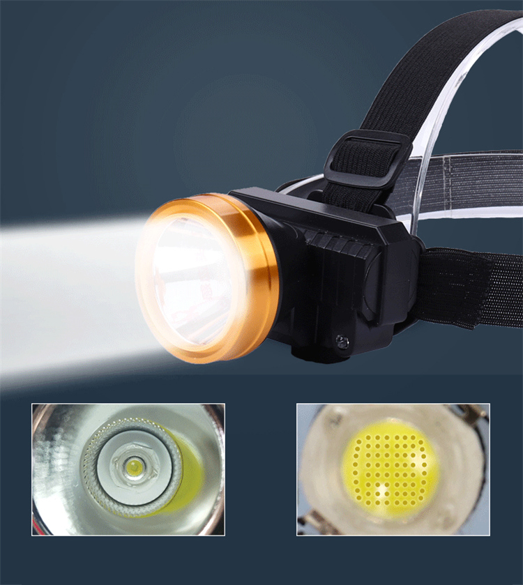 led headlamp rechargeable headlight Emergency usb rechargeable
