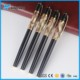 new material acrylic elaboration main products with gold parts high quality promotion metal roller pen