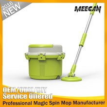 heavy duty plastic single bucket rotating 360 mop heads wonder tornado mop