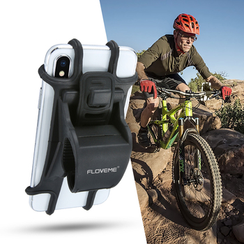 Great FLOVEME Free Shipping strongly fixed universal bike cell phone holder for bike holder phone