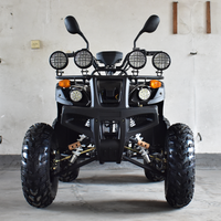 2018 hot sales 4 wheeler stoke air cooled quad 4x4 ATV